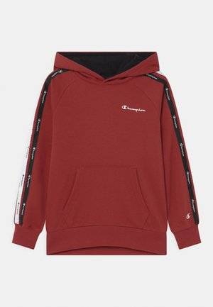LEGACY AMERICAN TAPE HOODED UNISEX - Mikina s kapucí - red