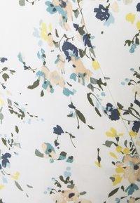 Abercrombie & Fitch - RUFFLE WRAP DRESS  - Kjole - white - 5
