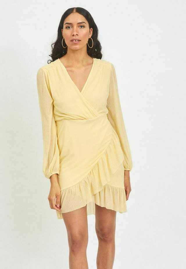 VIANDREA DRESS - Korte jurk - sunlight