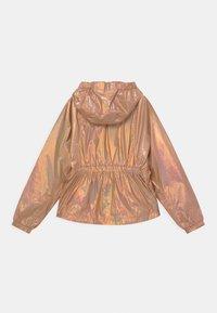 Calvin Klein Jeans - METALLIC SHINE  - Chaqueta de entretiempo - pink - 1