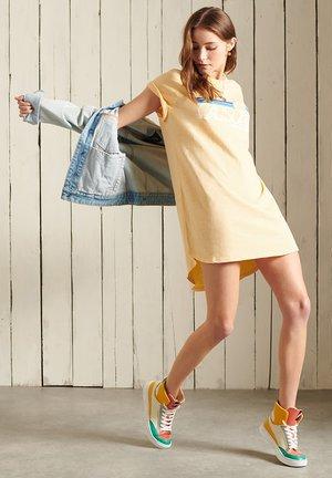 Jersey dress - mellow sun