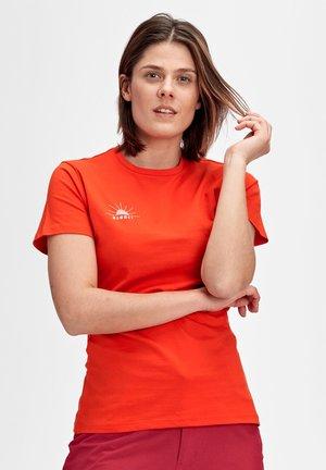 SEILE - T-shirt z nadrukiem - red