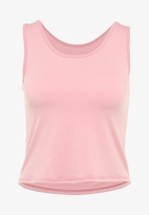 KNOT CROP - Camiseta de deporte - blush