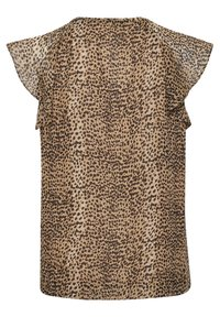 InWear - Blouse - light brown animal - 10