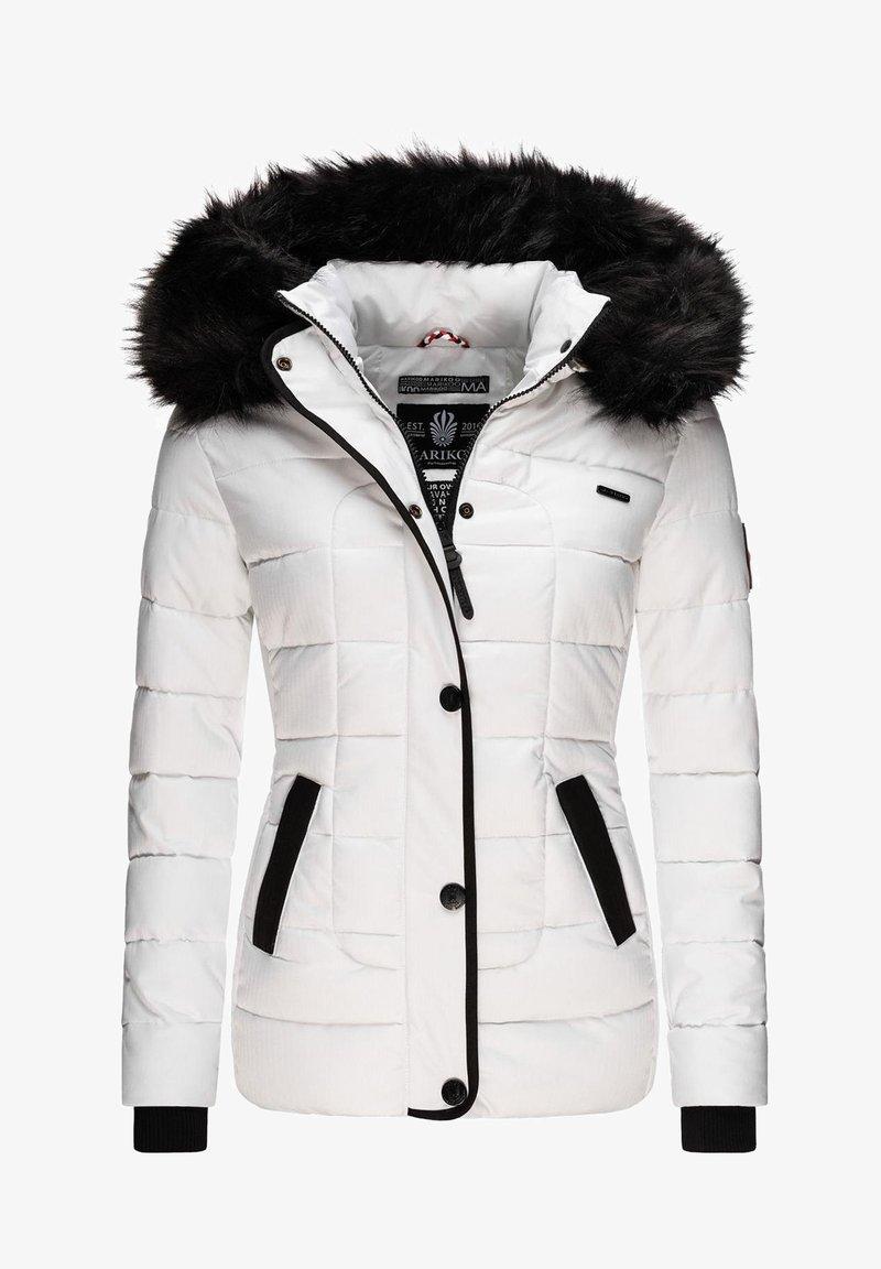 Marikoo - Winterjacke - white