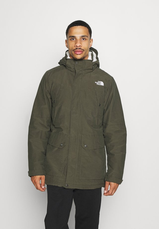 KATAVI - Parka - new taupe green