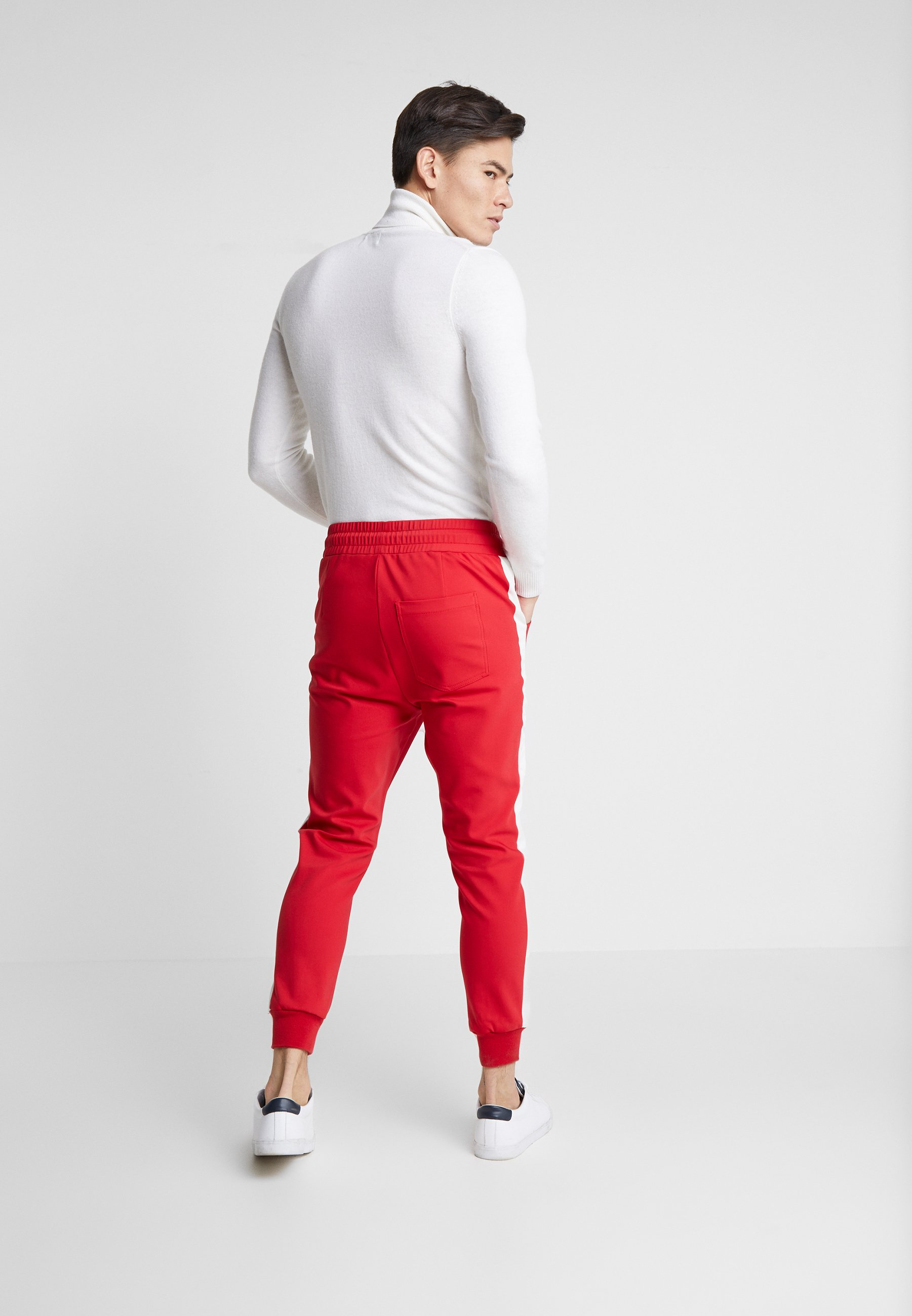 Be Edgy DOMINIK - Pantalon classique - red