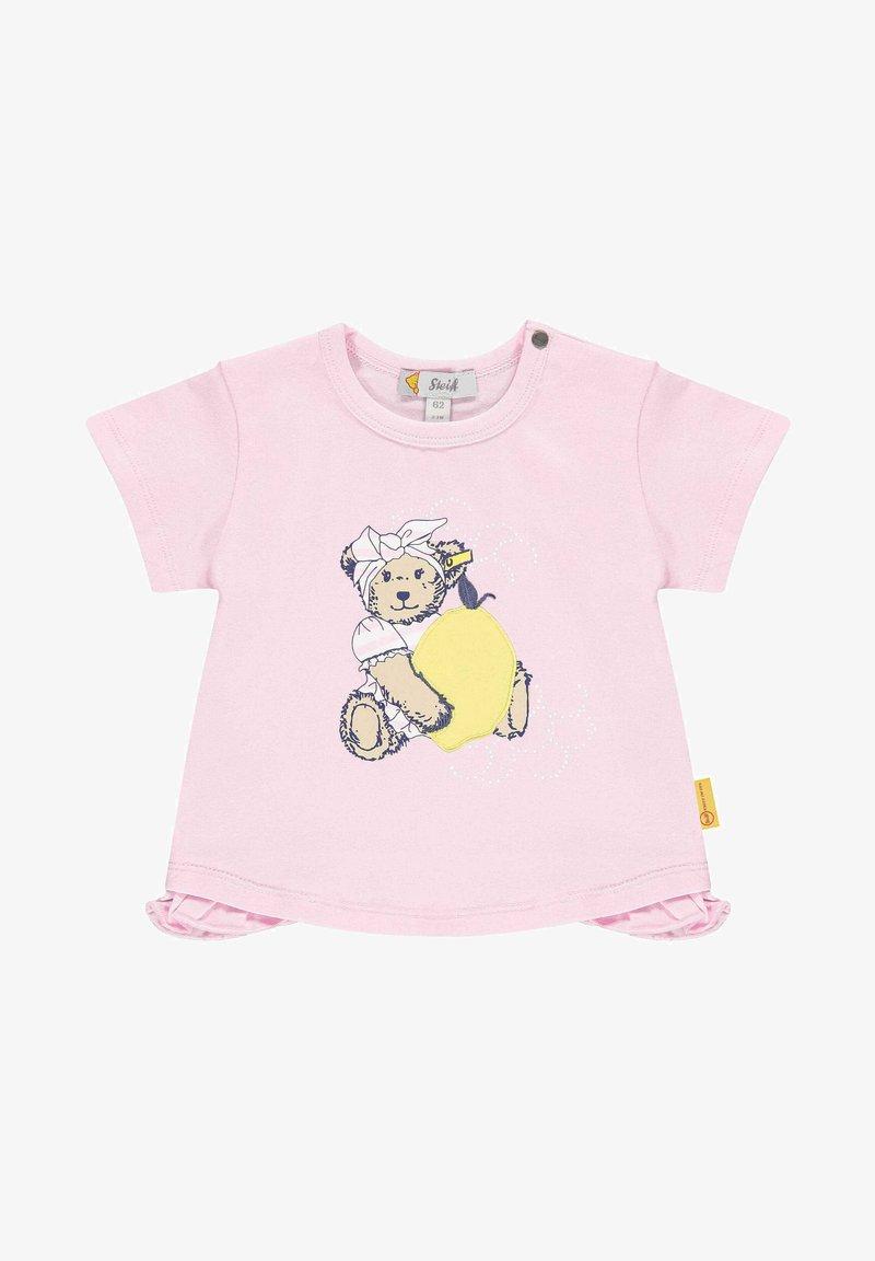 Steiff Collection - MIT COOLEM DRUCK - T-shirt print - pink lady