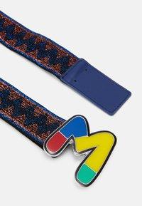 M Missoni - CINTURA LOGO - Pásek - blue - 2