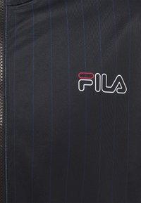Fila - JAMESON STRIPED TRACK JACKET - Giacca sportiva - black/bright white - 2