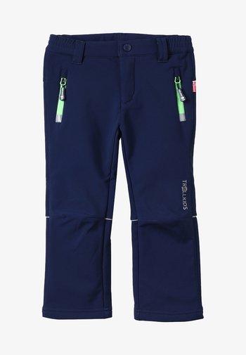 KIDS FJELL PANT - Outdoorové kalhoty - navy