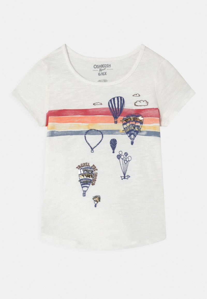 OshKosh - GRAPHIC - Print T-shirt - white