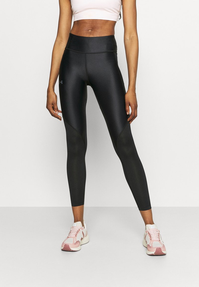 Under Armour - ISO CHILL RUN ANKLE - Leggings - black