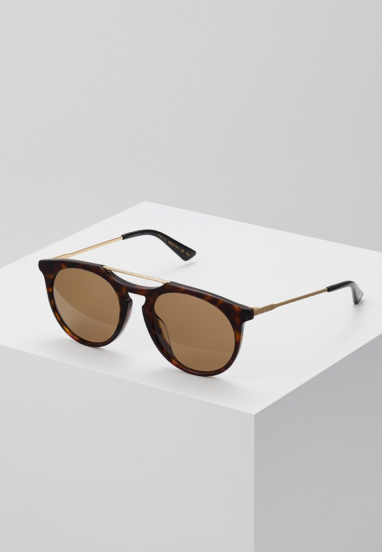 Gucci - Sluneční brýle - havana/gold-coloured/brown