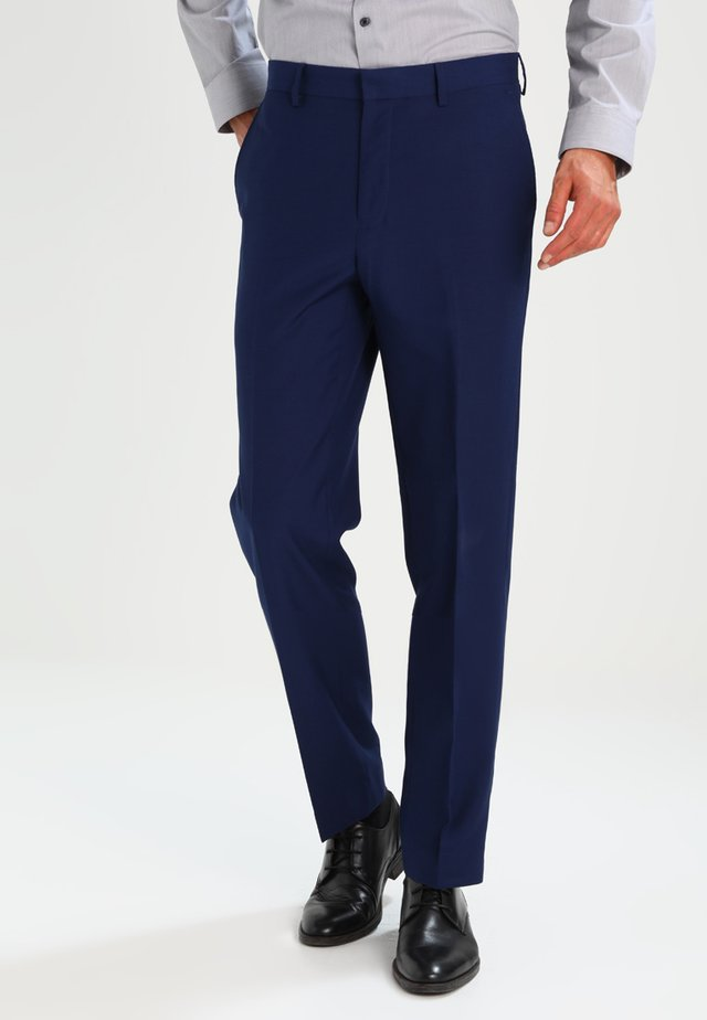 ESSENTIAL - Oblekové kalhoty - blue