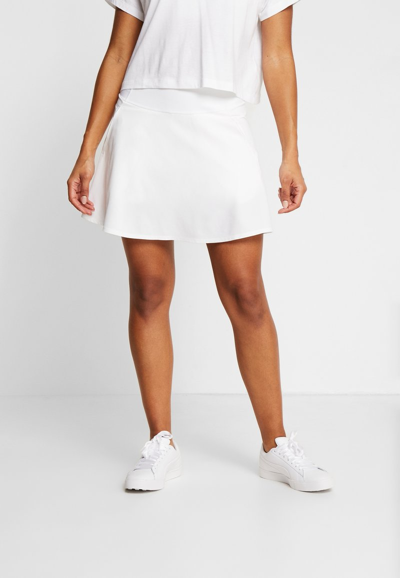 Puma Golf - PWRSHAPE SOLID SKIRT - Sports skirt - bright white