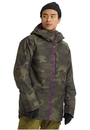 RADIAL - Snowboard jacket - worn camo
