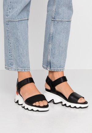 KINETIC™  - Platform sandals - black