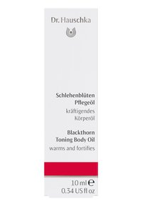 Dr. Hauschka - BLACKTHORN TONING BODY OIL - Body oil - - - 1