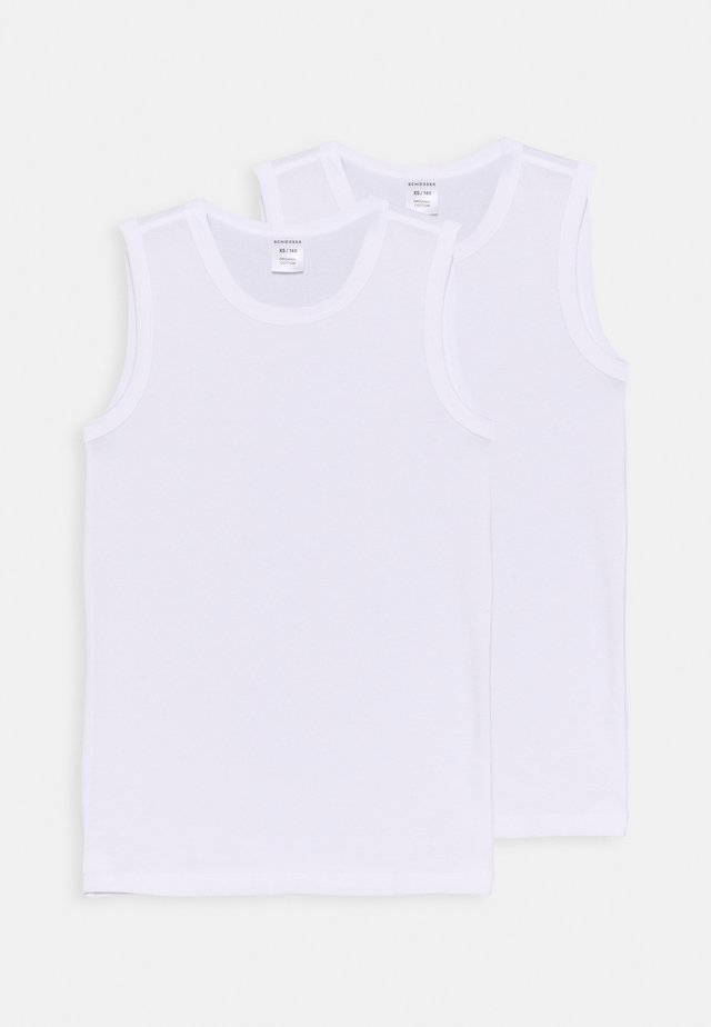TANKS 95/5 2 PACK - Undershirt - weiss