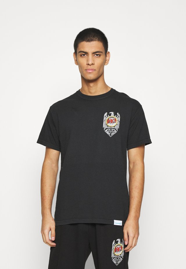 BRILLIANT ABYSS TEE - T-shirt con stampa - black