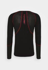 LÖFFLER - AIRVENT TRANSTEX LIGHT - Funktionsshirt - black/red - 1