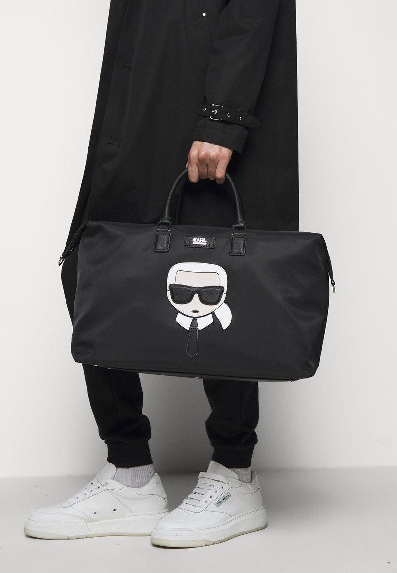 Karl Lagerfeld Ikonik Weekender Unisex Torba Weekendowa Black Czarny Zalando Pl