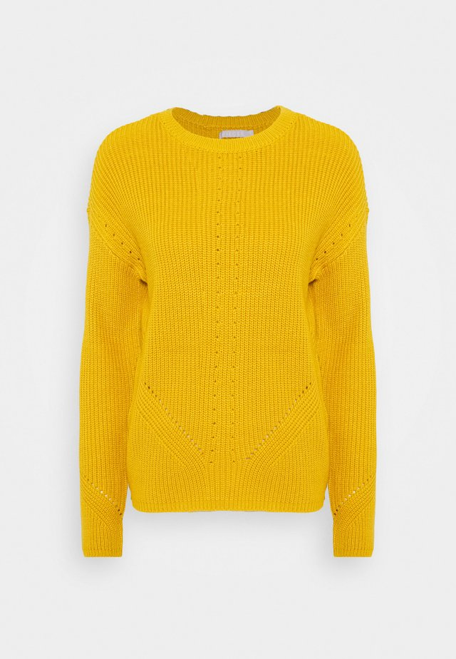 PCKARIE O NECK - Sweter - nugget gold