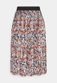 JDY - JDYBOA SKIRT - A-line skirt - black/light blue - 5