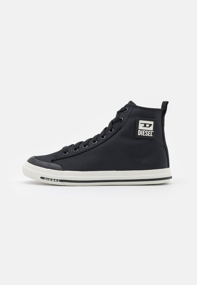 S-ASTICO MID CUT - Sneakers hoog - black/white