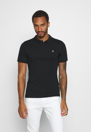 MUSCLE FIT - Polo - black