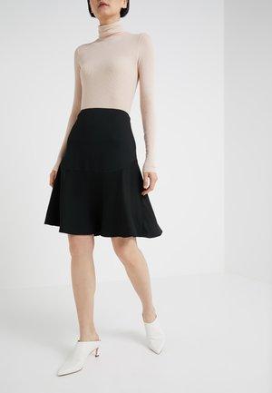 LEELA - A-line skirt - black