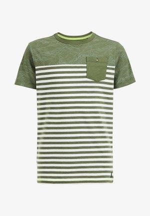 MET DESSIN - T-shirt print - green
