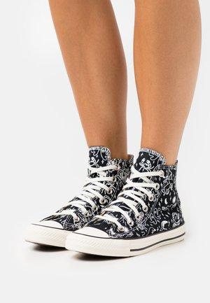 CHUCK TAYLOR ALL STAR - Zapatillas altas - black/egret/natural ivory