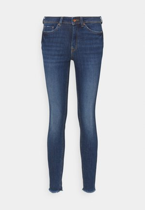 JONA - Jeans Skinny Fit - used mid stone blue denim
