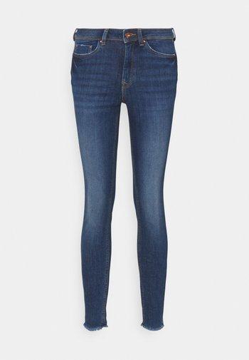 JONA - Jeans Skinny - used mid stone blue denim