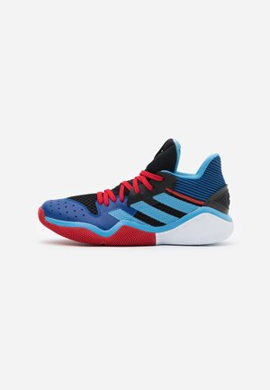 HARDEN STEPBACK - Basketball shoes - core black/team light blue/collegiate royal
