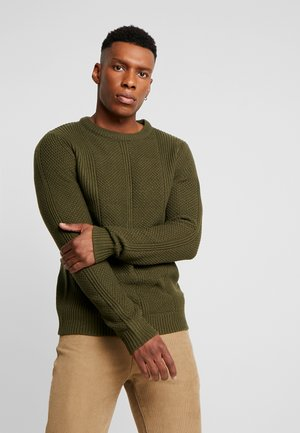 JCOHARVARD CREW NECK - Jumper - forest night
