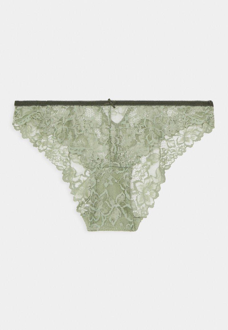 Women Secret - GUIPURE - Briefs - light khaki