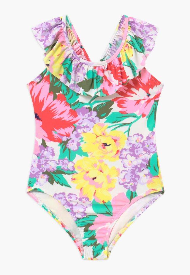 GIRL RUFFLE - Badeanzug - multi-coloured