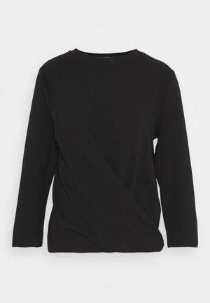 KIOMA STRUCTURE - Blouse - black
