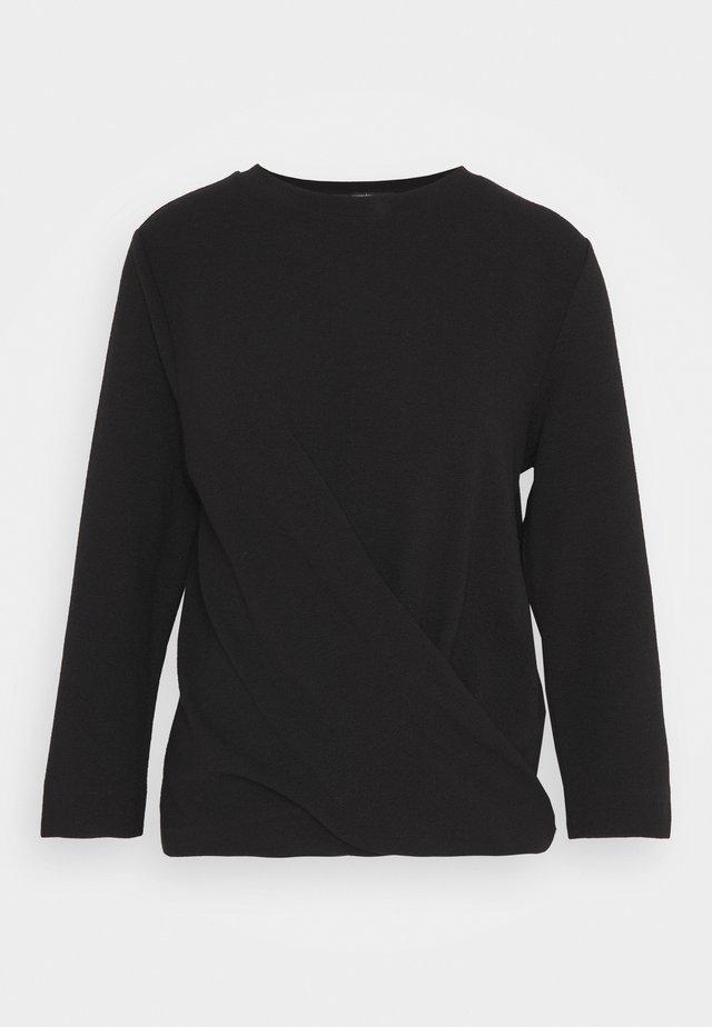 KIOMA STRUCTURE - Bluzka - black