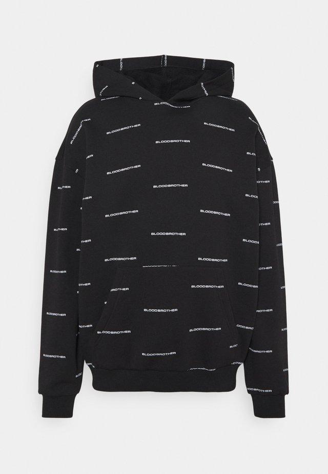 CUMBERLAND HOOD - Sweater - black