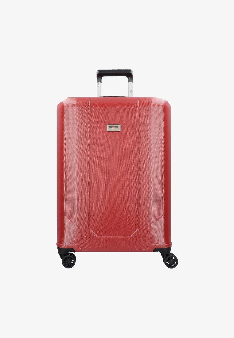 Hardware - Wheeled suitcase - red