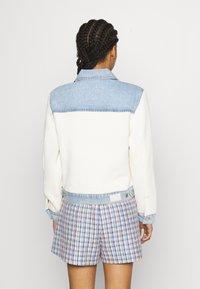 maje - BERLINGOT - Denim jacket - bleu ciel - 2