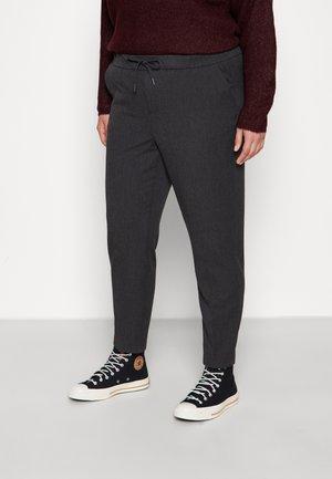 VMMAYA LOOSE STRING PANT - Kalhoty - dark grey melange