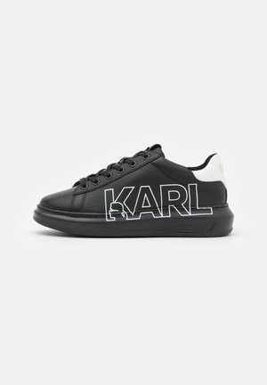 KAPRI OUTLINE LOGO - Trainers - black/silver