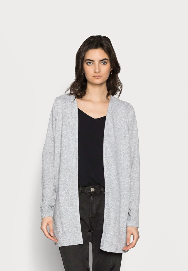VMMOLLY CARDIGAN - Cardigan - light grey melange