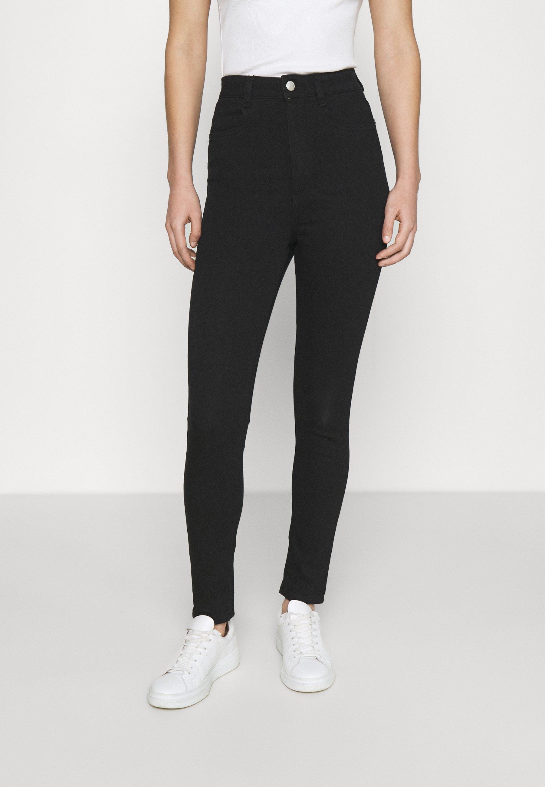 Donna ULTRA HIGH SUPER STRETCH  - Jeans Skinny Fit - black