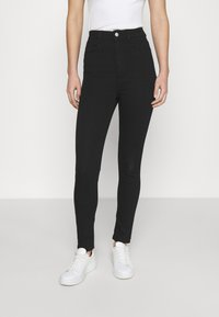 Cotton On - ULTRA HIGH SUPER STRETCH  - Jeans Skinny Fit - black - 0